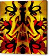 Abstract Graffiti 19 Canvas Print