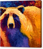 Abstract Grizz II Canvas Print