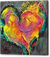 Abstract Heart Series Canvas Print