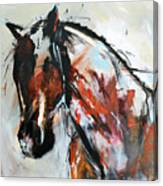 Abstract Horse 12 Canvas Print