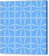 Abstract In Blue Canvas Print