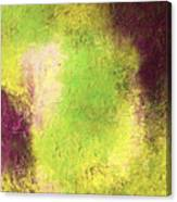 Abstract In Green And Brown Canvas Print