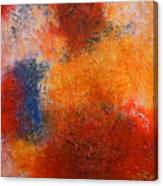 Abstract In Warm Colors Canvas Print