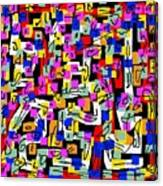 Abstract Laberinto 2 Canvas Print