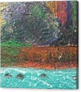Abstract Landscape 15-oo Canvas Print