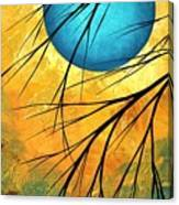 Abstract Landscape Art Passing Beauty 1 Of 5 Canvas Print