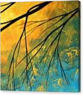Abstract Landscape Art Passing Beauty 2 Of 5 Canvas Print