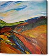 abstract landscape-Haloze Canvas Print