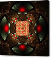 Abstract Mandala 2 Canvas Print