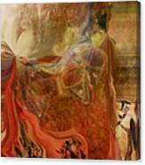 Abstract-mask Canvas Print