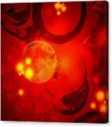 Abstract-nebula Canvas Print