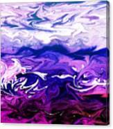 Abstract Ocean Fantasy One Canvas Print