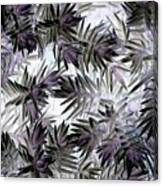 Abstract Of Low Growing Evergreen Shrub Canvas Print