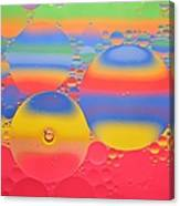 Abstract Oil And Water 7 Canvas Print