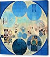 Abstract Painting - Curious Blue Canvas Print