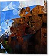 Abstract Painting - Spring 2015 Canvas Print