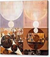 Abstract Painting - Zinnwaldite Canvas Print