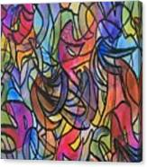 Abstract Pen Canvas Print
