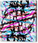 Abstract Pink Canvas Print