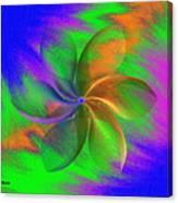 Abstract Pinwheel Canvas Print