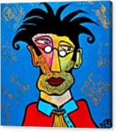 Abstract Professor Canvas Print