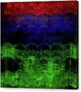 Abstract Rainbow Canvas Print