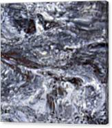 Abstract Rapids 5 Canvas Print