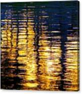 Abstract Reflection In Water 03 Canvas Print