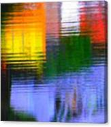 Abstract Reflections In Water 01 Canvas Print