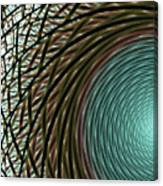 Abstract Ring Canvas Print