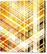 Abstract Shining Lines Canvas Print