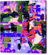 Abstract Sports Montage Canvas Print