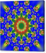 Abstract Sun 070908010102 Canvas Print