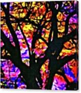 Abstract Tree 304 Canvas Print