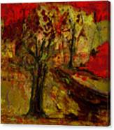 Abstract Tree Canvas Print