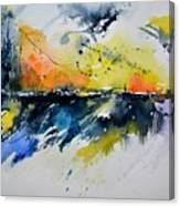 Abstract Watercolor 7007555 Canvas Print