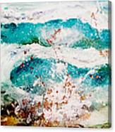 Abstract Waves Lbi Canvas Print