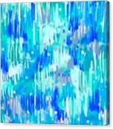 Abstract Winter Canvas Print