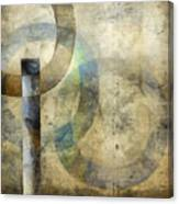 Abstract With Circles Canvas Print