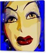 Abstract Woman #2 Canvas Print