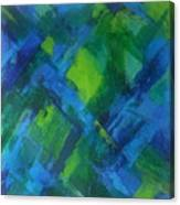 Abstract X Canvas Print