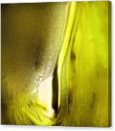 Abstract Yellow Canvas Print