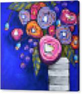 Abstracted Flowers - 2 Canvas Print