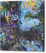 Abstracted Koi Pond Canvas Print