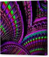 Abstracticalia Fantalia - In Purple - Catus 1 No. 1 L B Canvas Print