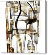 Abstraction 2430 Canvas Print