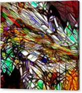 Abstracto En Dimension Canvas Print