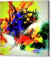 Abstrato Zzzo Canvas Print