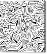 Abstruse Canvas Print