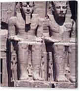 Abu Simbel In Egypt Canvas Print